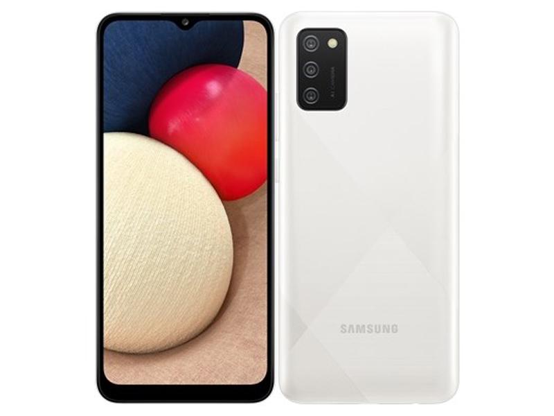 Сотовый телефон Samsung SM-A025F Galaxy A02S 3Gb/32Gb White сотовый телефон samsung sm a115f galaxy a11 2gb 32gb white
