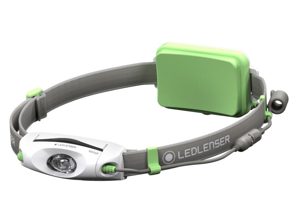 Фонарь LED LENSER NEO6R Green