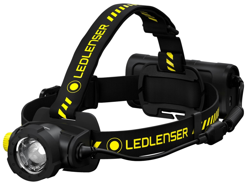 Фонарь LED Lenser H15R Work 502196