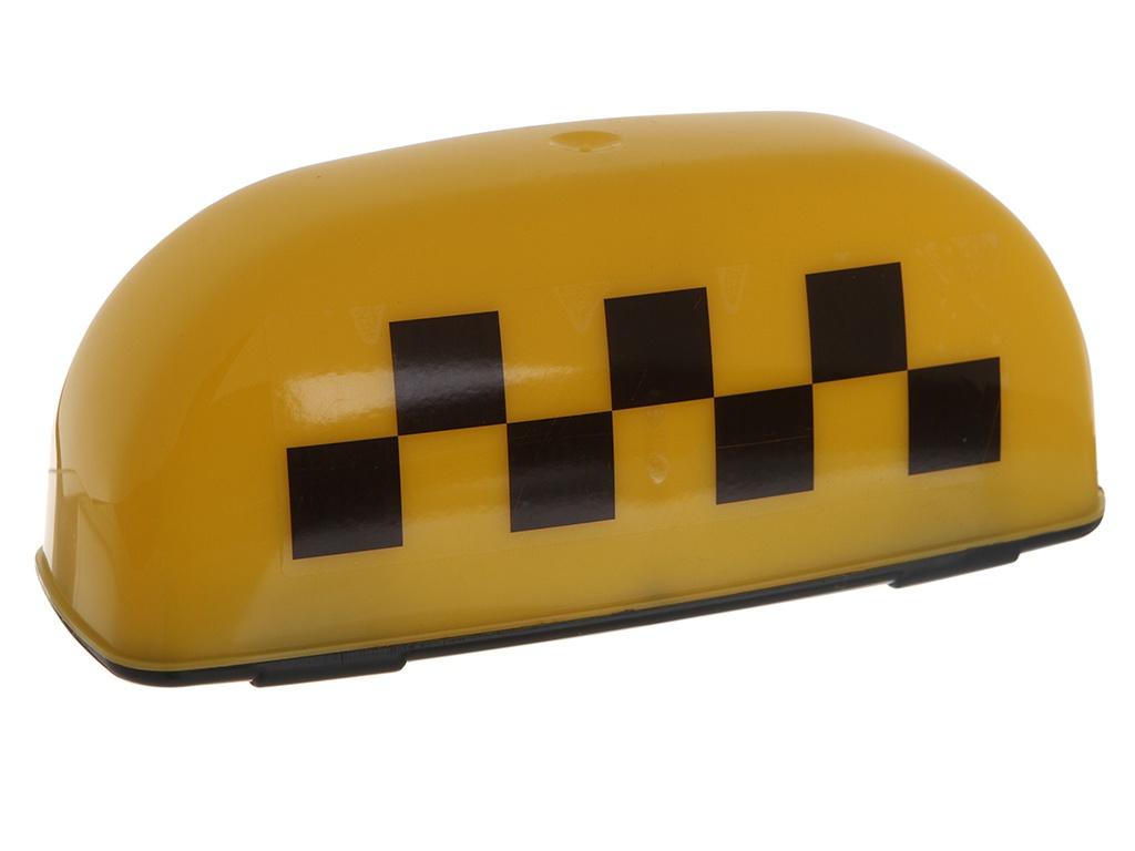 Знак Такси Шашечки Главдор GL-380 25x10x12cm Yellow 52459