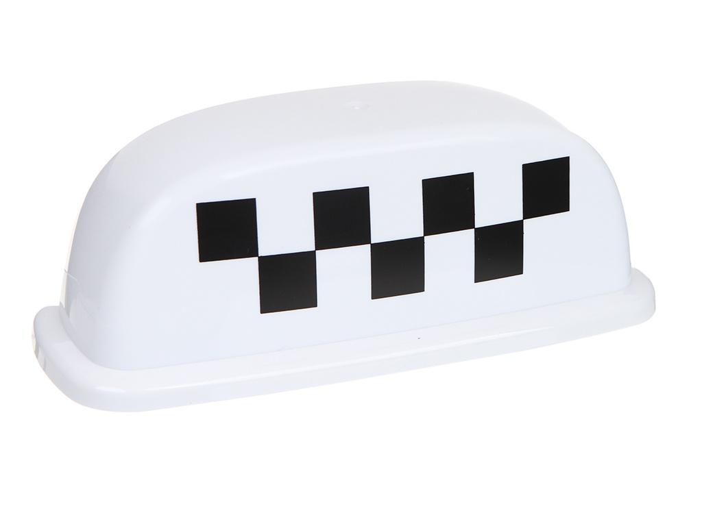 Знак Такси Шашечки Главдор Special GL-375 25x10x12cm White 52451