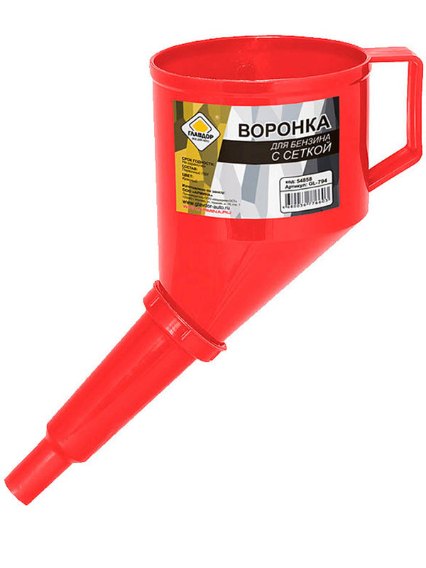пусковые провода главдор gl 426 300a 2m black red 52750 Воронка Главдор Lux GL-794 Red 54858