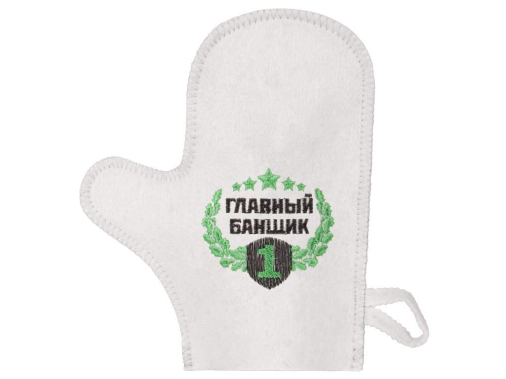 Рукавица для бани Банная линия Главный банщик 11-143