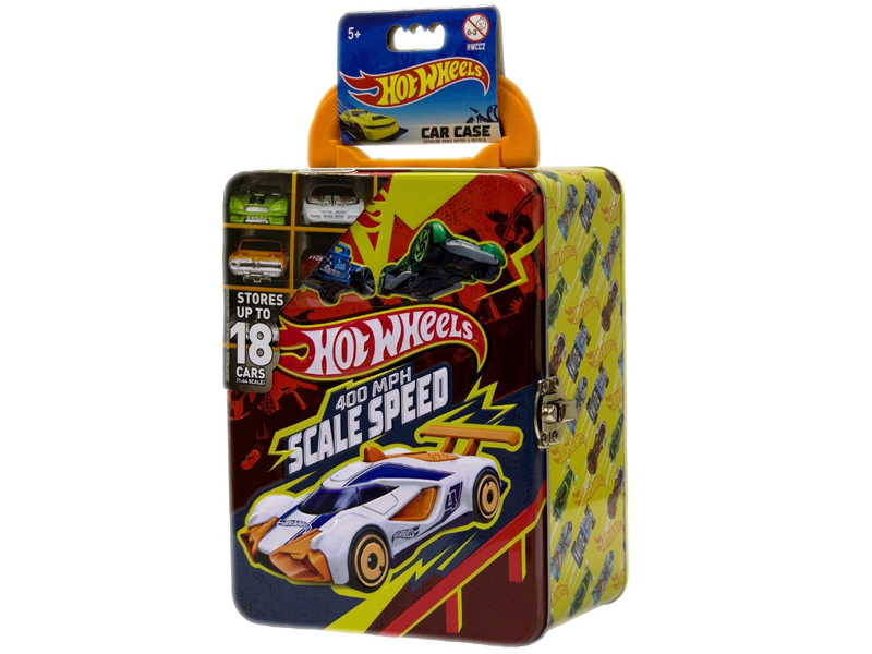 Игрушка Mattel Портативный кейс для машинок Hot Wheels HWCC2 Light Red