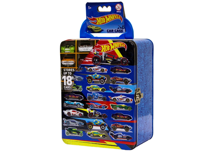 Игрушка Mattel Портативный кейс для машинок Hot Wheels HWCC2 Turquoise