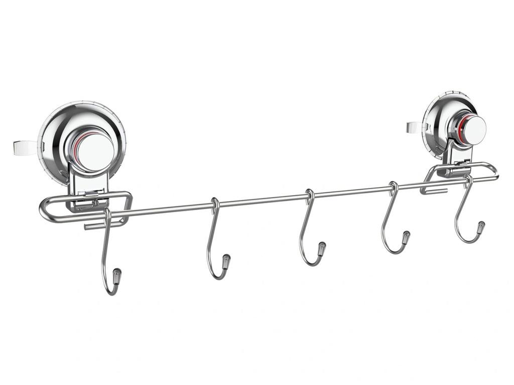 Планка для полотенец с крючками Gromell Sirna DG 0775
