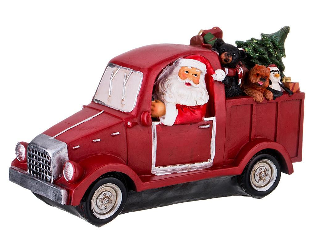 Игрушка Lefard Санта с подарками 35x13.5x18.5cm 146-1002