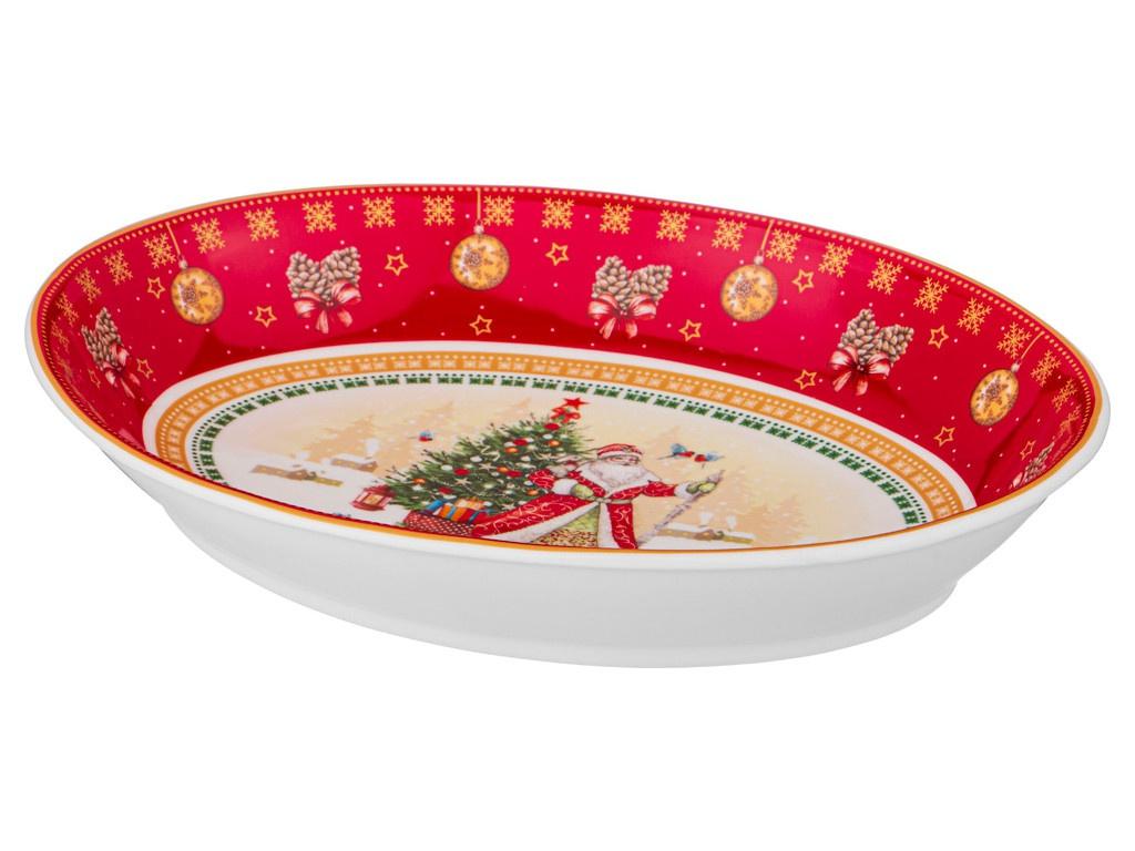 Салатник Lefard Christmas Collection 25x19.5x4.5cm 85-1637