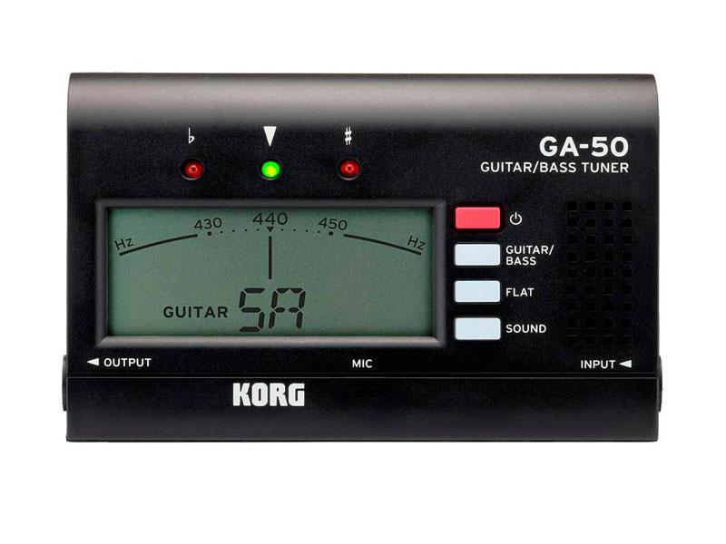 Тюнер Korg GA-50