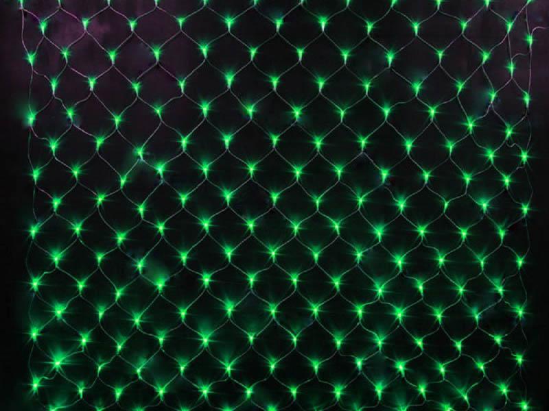Гирлянда SnowHouse Сетка 1.5х1m NTLD144-G-E
