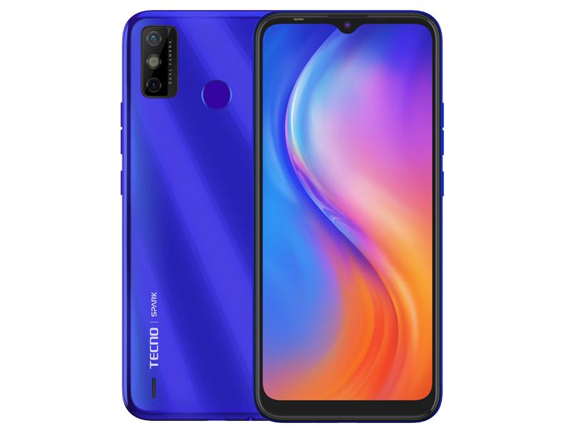 Сотовый телефон Tecno Spark 6 Go 2/32Gb Aqua Blue