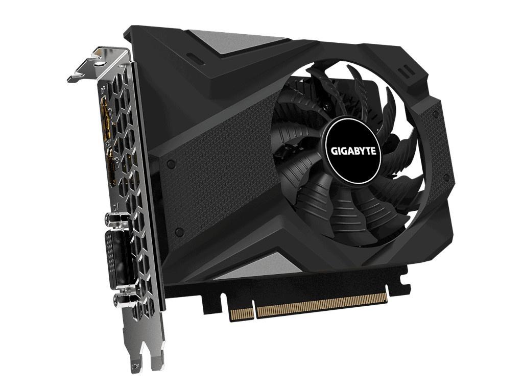 Видеокарта GigaByte GeForce GTX 1650 D6 OC 4G 1635MHz PCI-E 3.0 4096Mb 12000Mhz 128-bit DP HDMI DVI-D GV-N1656OC-4GD Выгодный набор + серт. 200Р!!!