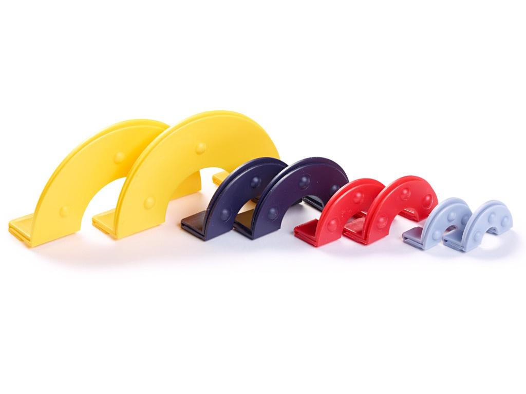Приспособление для изготовления помпонов Prym 4 размера d-3/4.5/5.5/9cm 624153