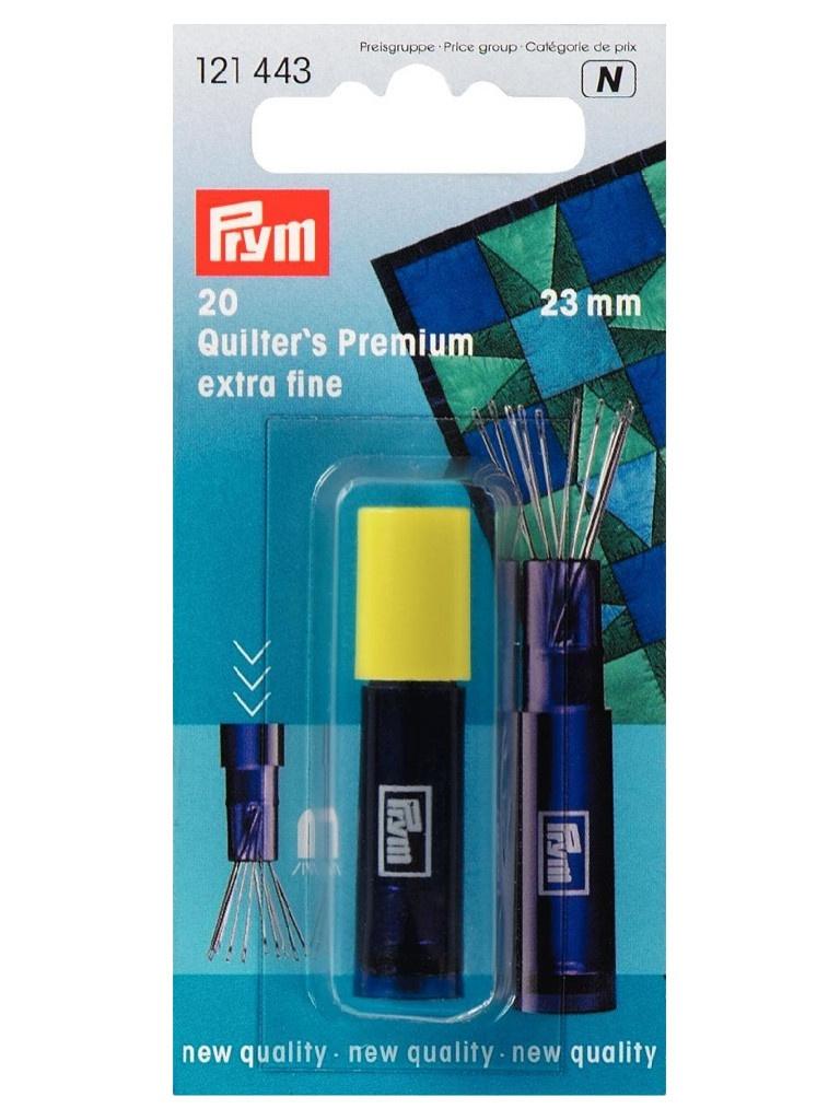 Иглы для квилтинга Prym 23mm 20шт 121443