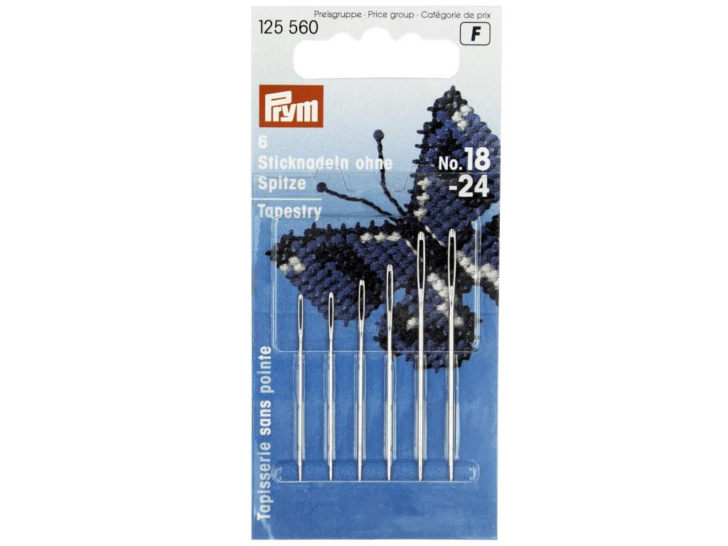 Иглы для вышивки Prym №18-24 6шт 125560