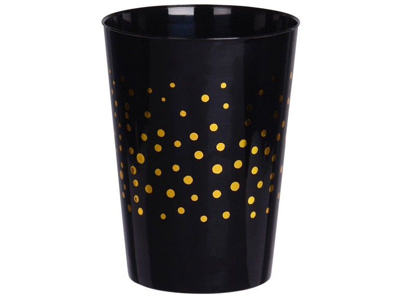 Набор пластиковых стаканов Koopman International Magic Party 300ml 4шт Black 178000530