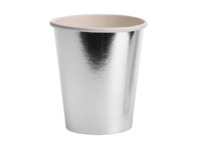 Одноразовые стаканы Koopman International Джой 250ml 8шт Silver CY5653320/163794