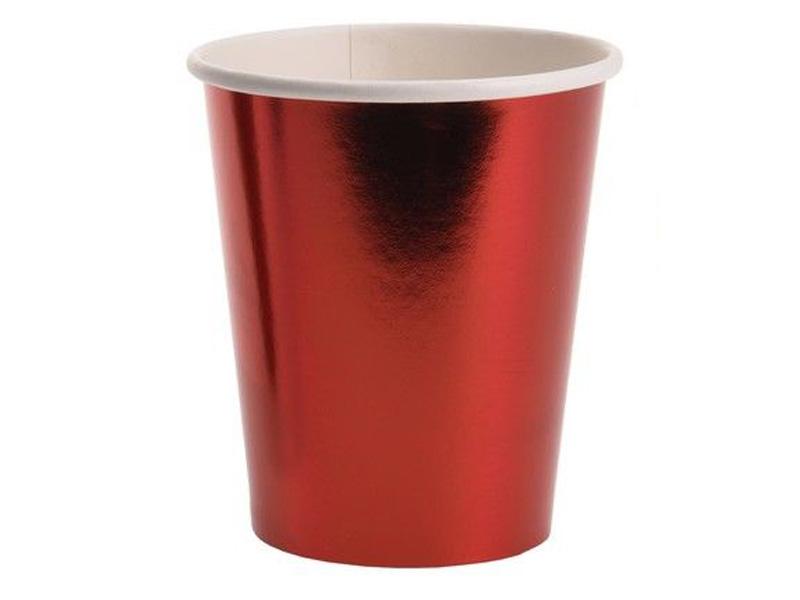 Одноразовые стаканы Koopman International Джой 250ml 8шт Red CY5653320/163794