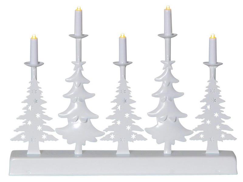Декоративный подсвечник Star Trading Walder 5 LED-свечей 23.5x32cm Warm White 188-74
