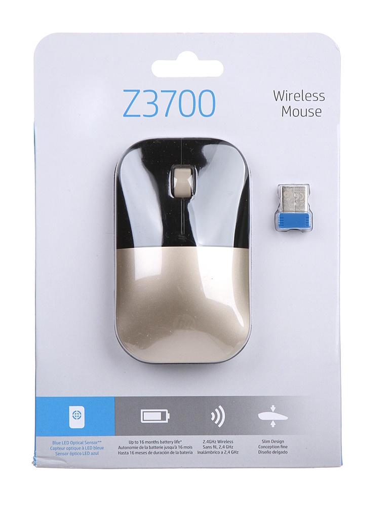 Мышь HP Z3700 Gold X7Q43AA
