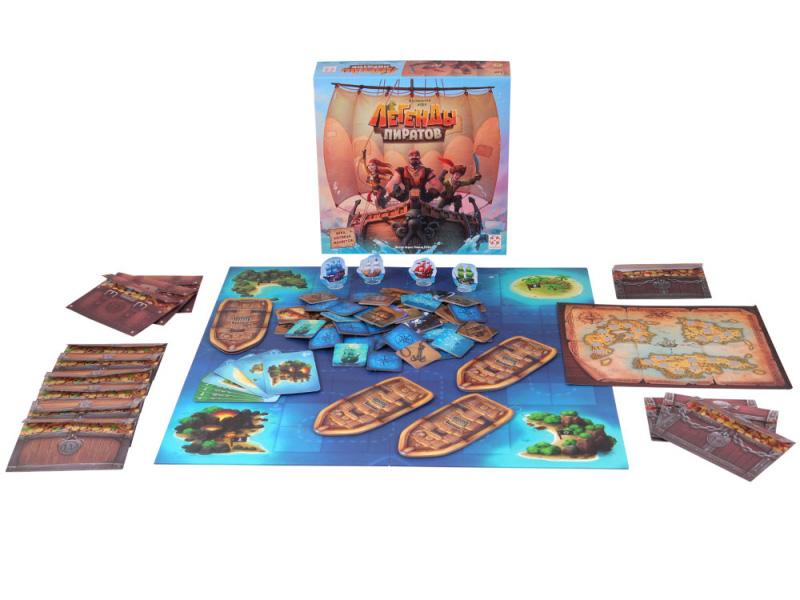 Настольная игра Стиль жизни Легенды пиратов УТ100028449