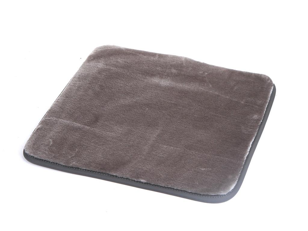 Накидка на сиденье PSV Искусственный мех 45x45 1шт Light Grey 132241