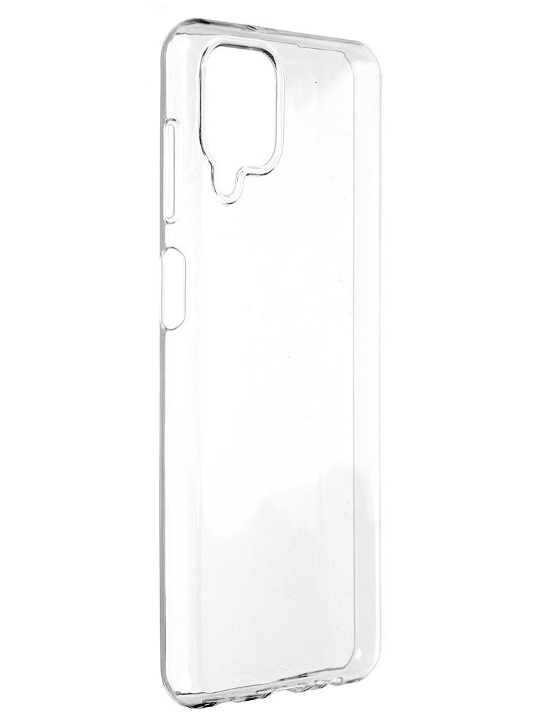 Чехол DF для Samsung Galaxy A12 Silicone Super Slim sCase-109