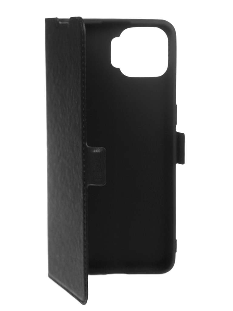 Чехол DF для Oppo Reno 4 Lite Flip Case Black oFlip-13