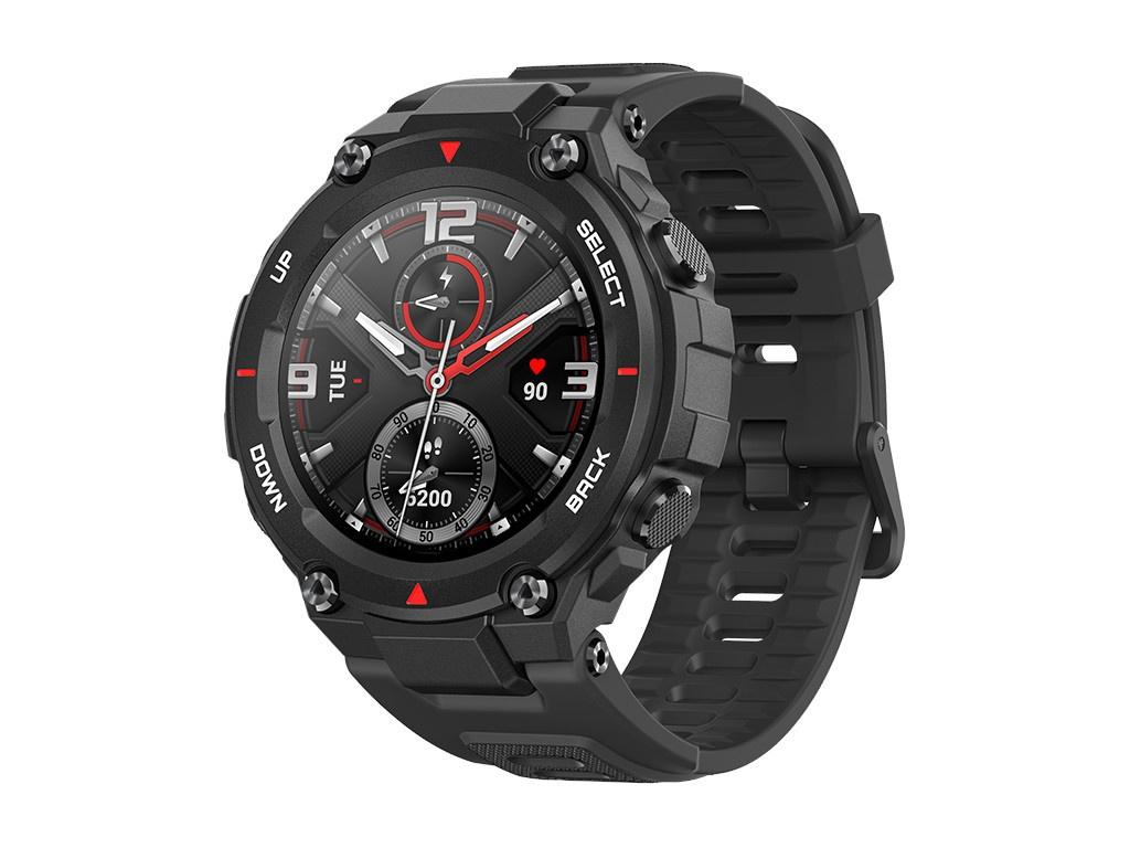 Умные часы Xiaomi Amazfit T-Rex A1919 Rock Black Выгодный набор + серт. 200Р!!!