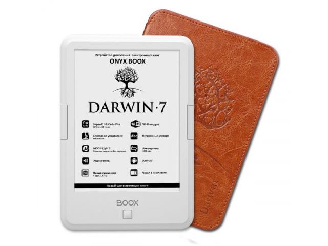Электронная книга Onyx Boox Darwin 7 White Выгодный набор + серт. 200Р!!!