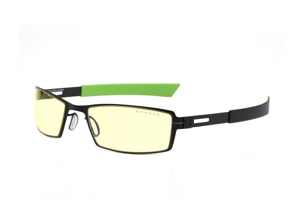 Очки компьютерные Gunnar Moba Razer Edition Black-Green RZR-30007