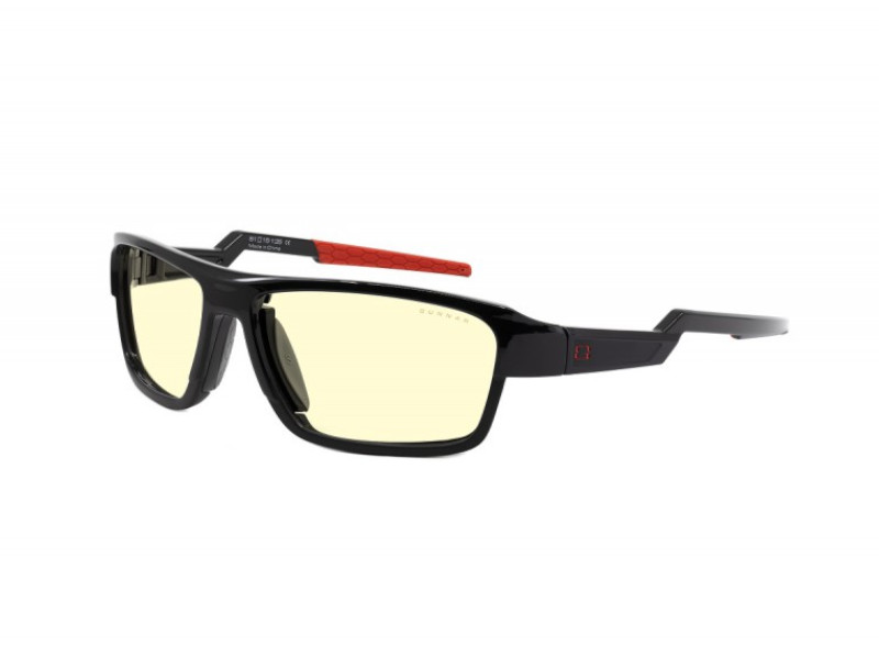 Очки компьютерные Gunnar Lightning Bolt 360 Black-Red LI3-00101