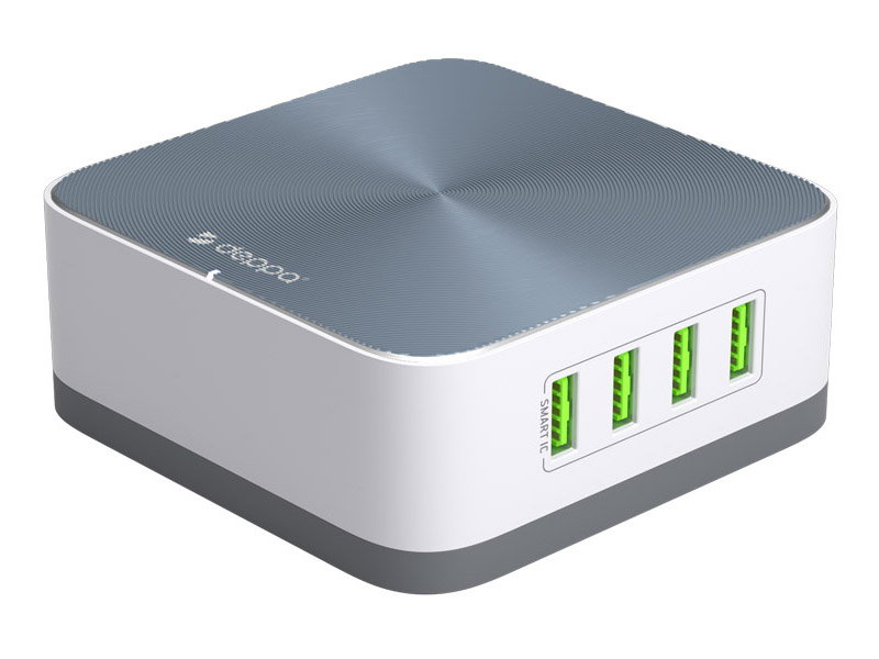 Зарядное устройство Хаб USB Deppa White 11394