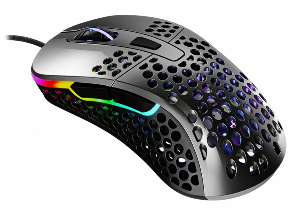 Мышь Xtrfy M4 RGB Glossy Gray