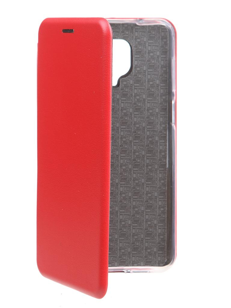 Чехол Zibelino для Xiaomi Redmi Note 9S / 9 Pro Book Red ZB-XIA-RDM-NOT9S-RED