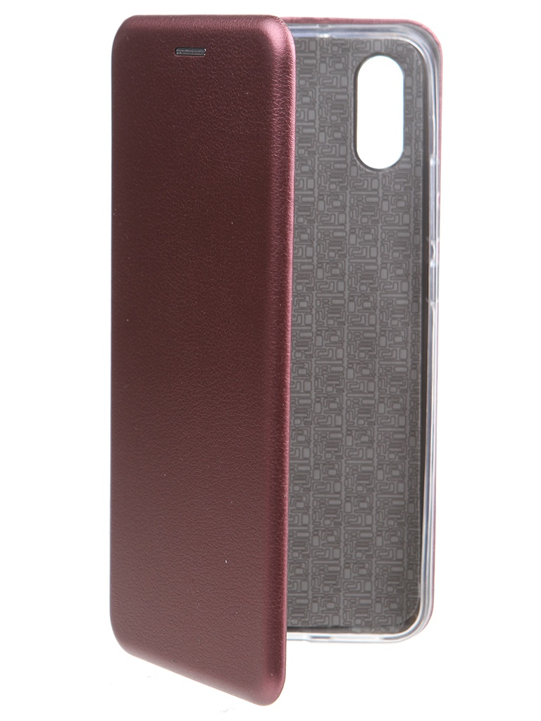 Чехол Zibelino для Xiaomi Redmi 9A Book Burgundy ZB-XIA-RDM-9A-BOR