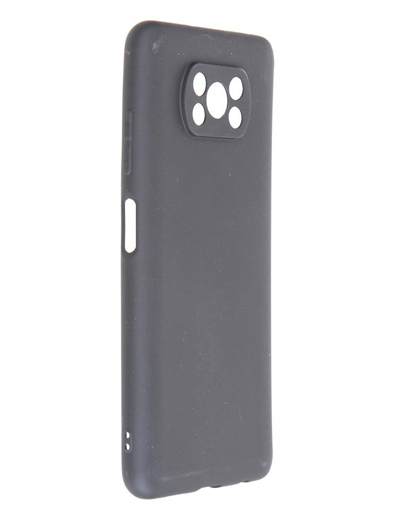 Чехол Zibelino для Xiaomi Poco X3 Soft Matte Black ZSM-XIA-X3-BLK