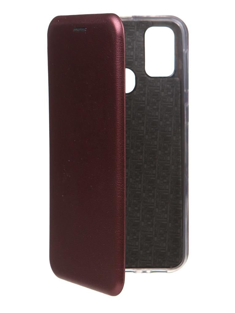 Чехол Zibelino для Samsung Galaxy M21/M30s M215/M307 Book Burgundy ZB-SAM-M21-BRD