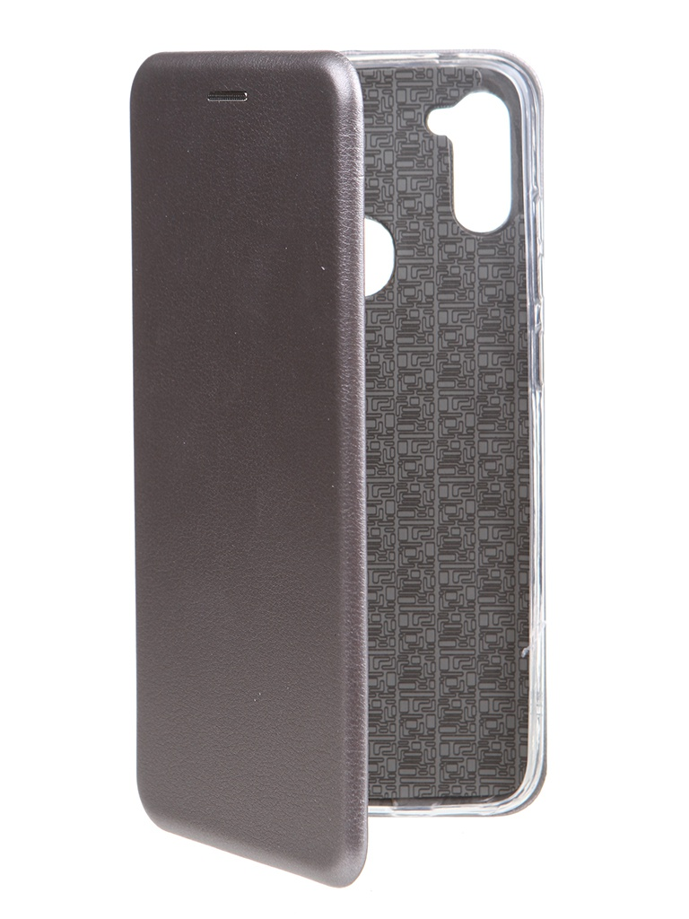 Чехол Zibelino для Samsung Galaxy A11/M11 Book Platinum Grey ZB-SAM-M11-GRY