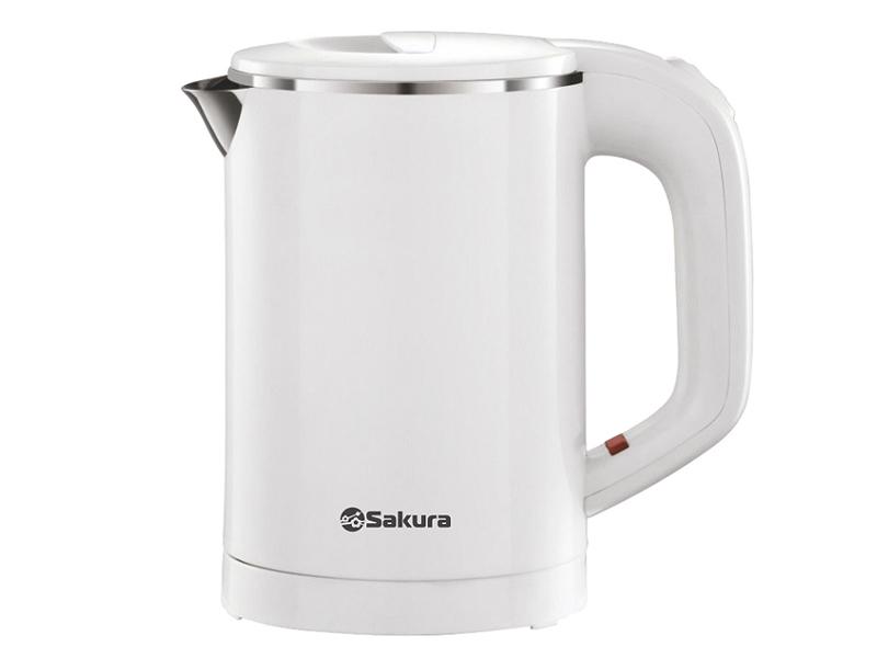 Фото - Чайник Sakura SA-2158W 600ml чайник sakura sa 2159wbl 1 8l