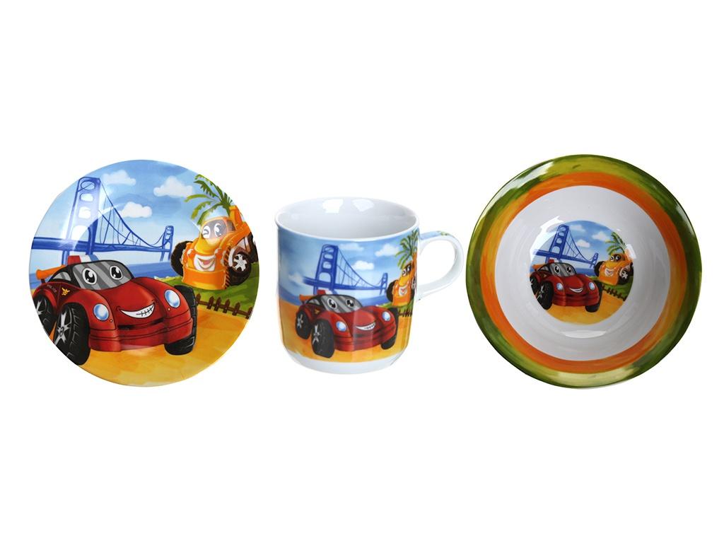 Набор детской посуды Daniks Автомобили 272939