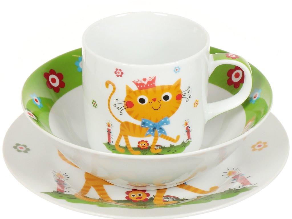 Набор детской посуды Daniks Ласковый котенок 340766