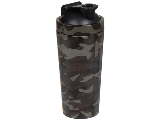 Термокружка Daniks YTCT035-7 600ml Military-Black 352985
