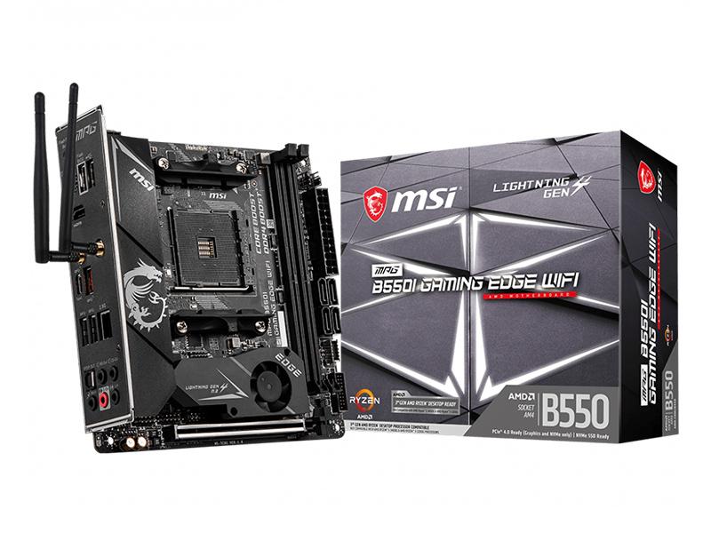 Материнская плата MSI MPG B550I Gaming Edge WiFi