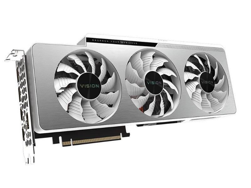 Видеокарта Gigabyte GeForce RTX 3080 Vision OC 10G 1800Mhz PCI-E 4.0 10240Mb 19000Mhz 320-bit 2xHDMI 3xDP HDCP GV-N3080VISION OC-10GD Выгодный набор + серт. 200Р!!!