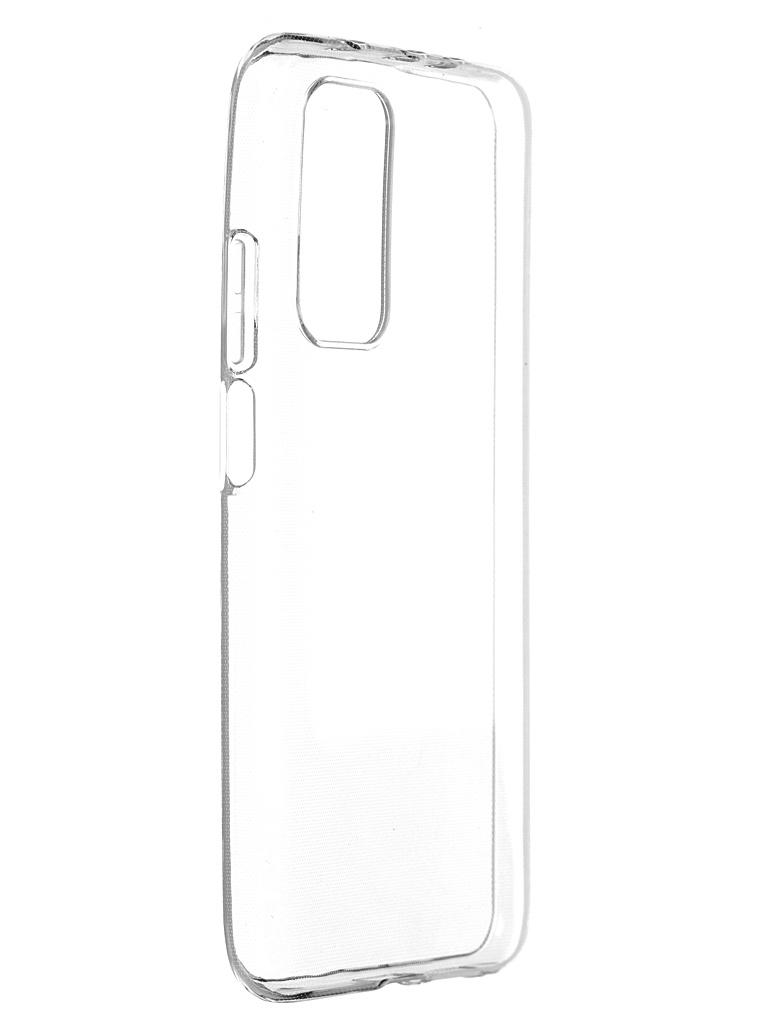Чехол Brosco для Xiaomi Mi 10T TPU Transparent XM-MI10T-TPU-TRANSPARENT