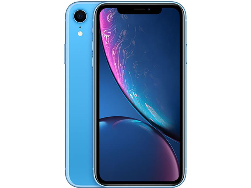 Сотовый телефон APPLE iPhone XR - 128Gb Blue MRYH2RU/A Выгодный набор для Selfie + серт. 200Р!!!