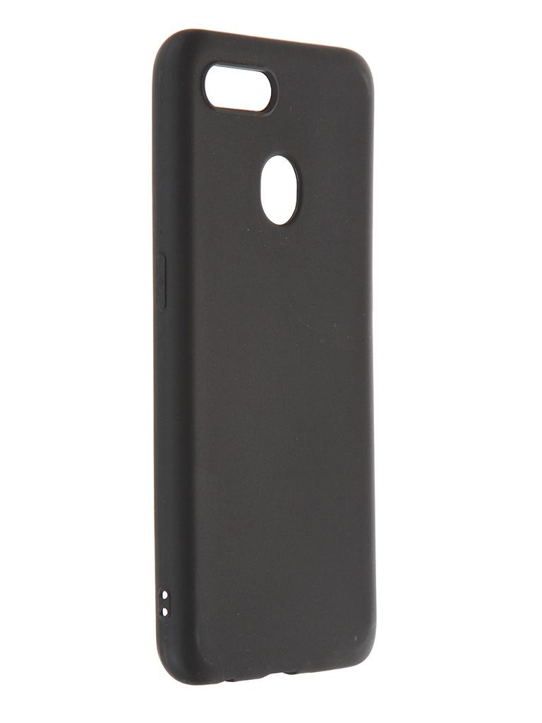 Чехол Zibelino для Oppo A12 Soft Matte Black ZSM-OPPO-A12-BLK