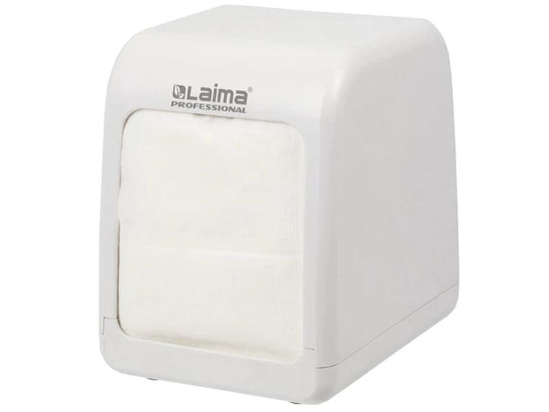 Диспенсер для салфеток Лайма Professional White 606679