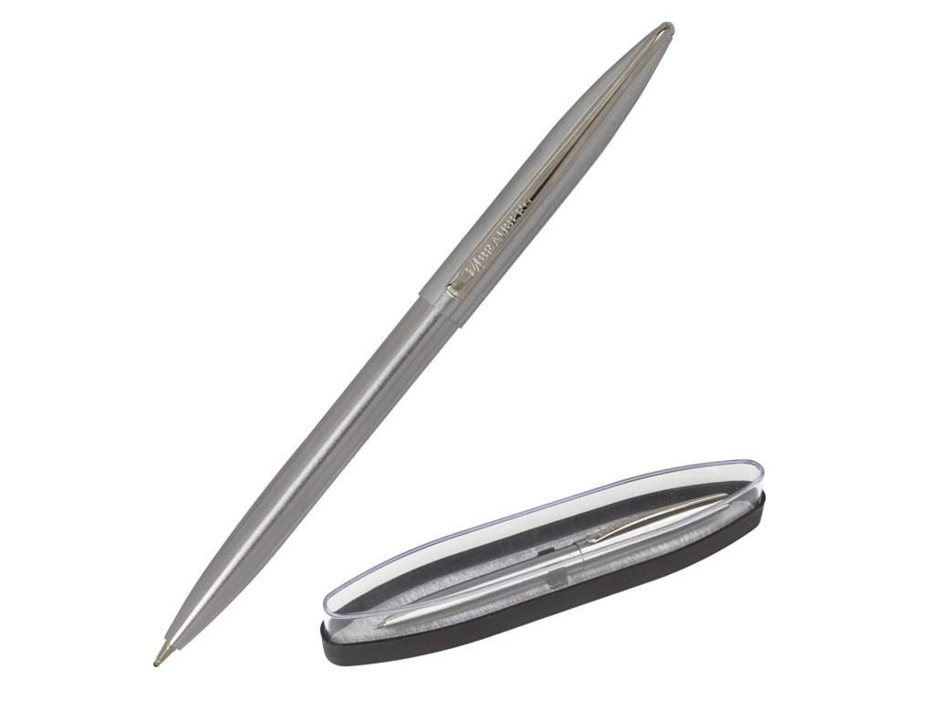 Ручка шариковая Brauberg Ballet корпус Silver-Chrome, стержень Blue 143480